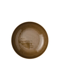 PIATTO FONDO CM 21 MESH COLOURS WALNUT ROSENTHAL