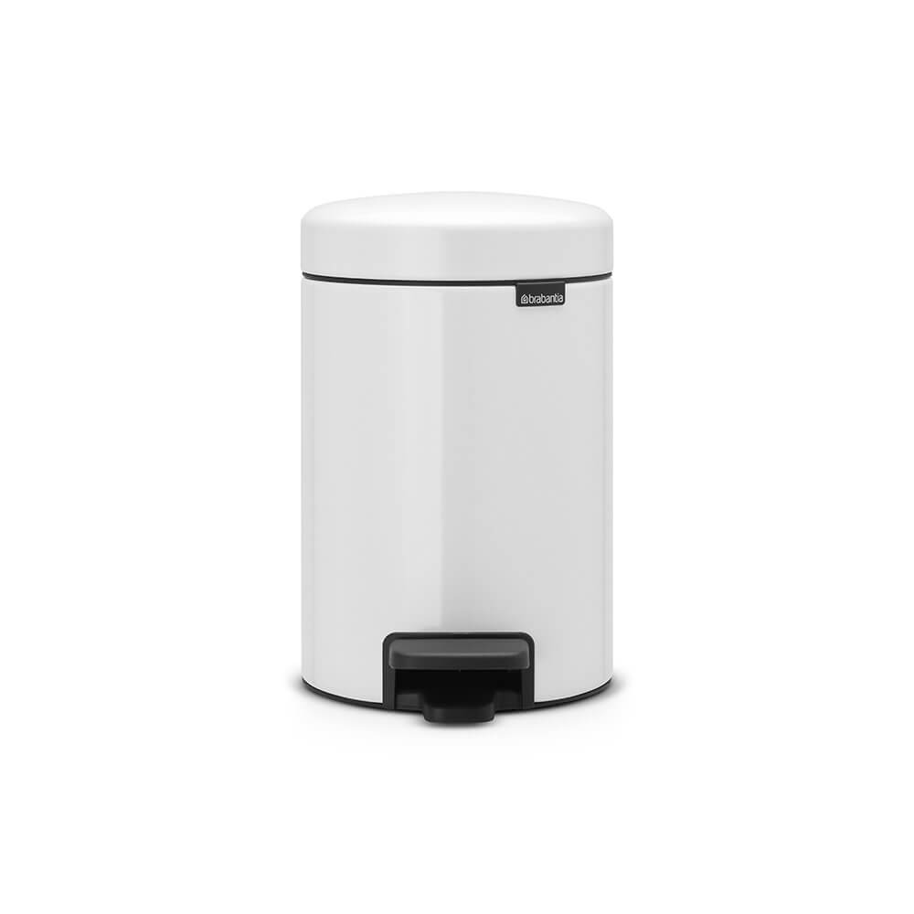 PEDAL BIN NEW ICON 3 LT WHITE BRABANTIA