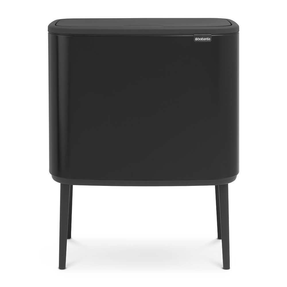 PATTUMIERA BO TOUCH MATT BLACK 11+11+11 LT BRABANTIA