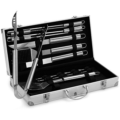 SET BARBEQUE PHOENIX 8 PZ INOX  KUCHENPROFI