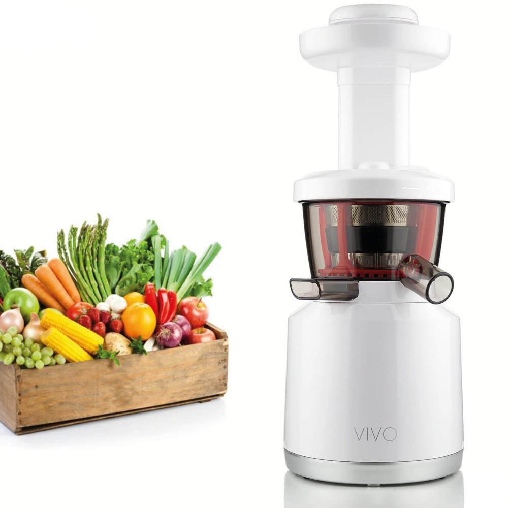 ESTRATTORE SLOW JUICER VIVO SMART BIANCO LUCIDO CLASSE