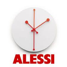 OROLOGIO DA PARETE DOTTY CLOCK BIANCO ALESSI